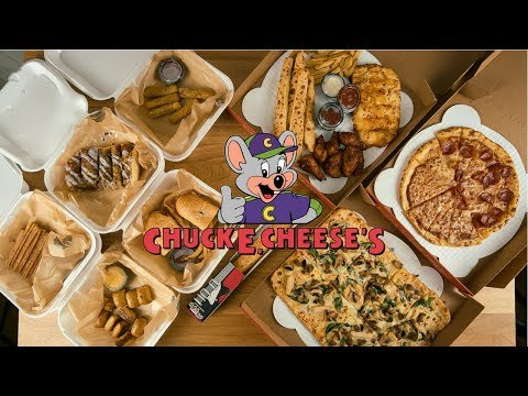 Chuck E. Cheese Menu Challenge