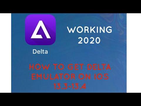 How To Get Delta Emulator IOS 12.3.5-13.X Working 2020** (AltStore)