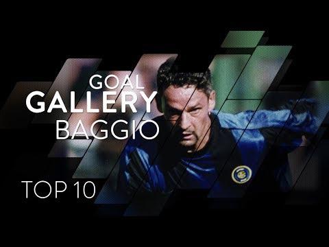 ROBERTO BAGGIO | INTER TOP 10 GOALS | Goal Gallery 🇮🇹🖤💙