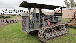 Caterpillar Sixty Engine Startup Demo