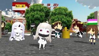 [NiCo Hoppou MMD] 【MMD艦これ】ふたりのひしもちぺったん【集゛め゛る゛の゛です!!】 thumbnail