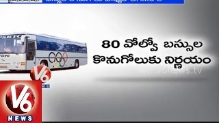 Telangana Government to buy 80 Pushpak Buses to state RTC
