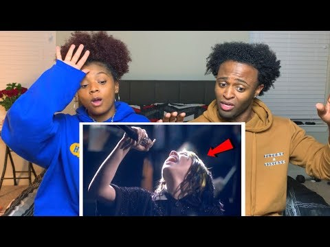 BILLIE EILISH BELTS OUT HUGE NOTE! (NO TIME TO DIE)