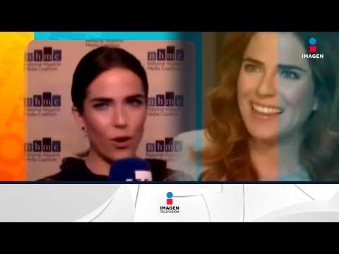 Karla Souza reveló que fue víctima de acoso sexual  | Noticias con Francisco Zea