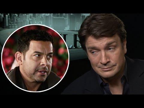Nathan Fillion Says Jon Huertas Pranks Him On Set of 'Castle'