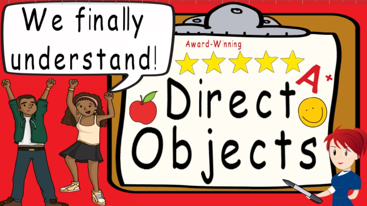 medium resolution of Direct Object   Award Winning Direct Objects Teaching Video   What is a direct  object? - YouTube