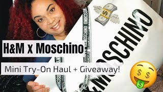 H&M x MOSCHINO Mini Try-On Haul + Giveaway!!