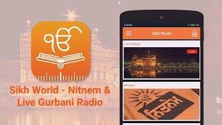 Sikh World - Nitnem & Live Gurbani Radio screenshot 2