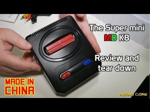 Pow Kiddy Mega Drive Mini - Review & tear down
