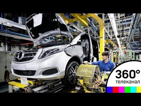 Строительство завода Mercedes в Солнечногорском районе идёт по графику