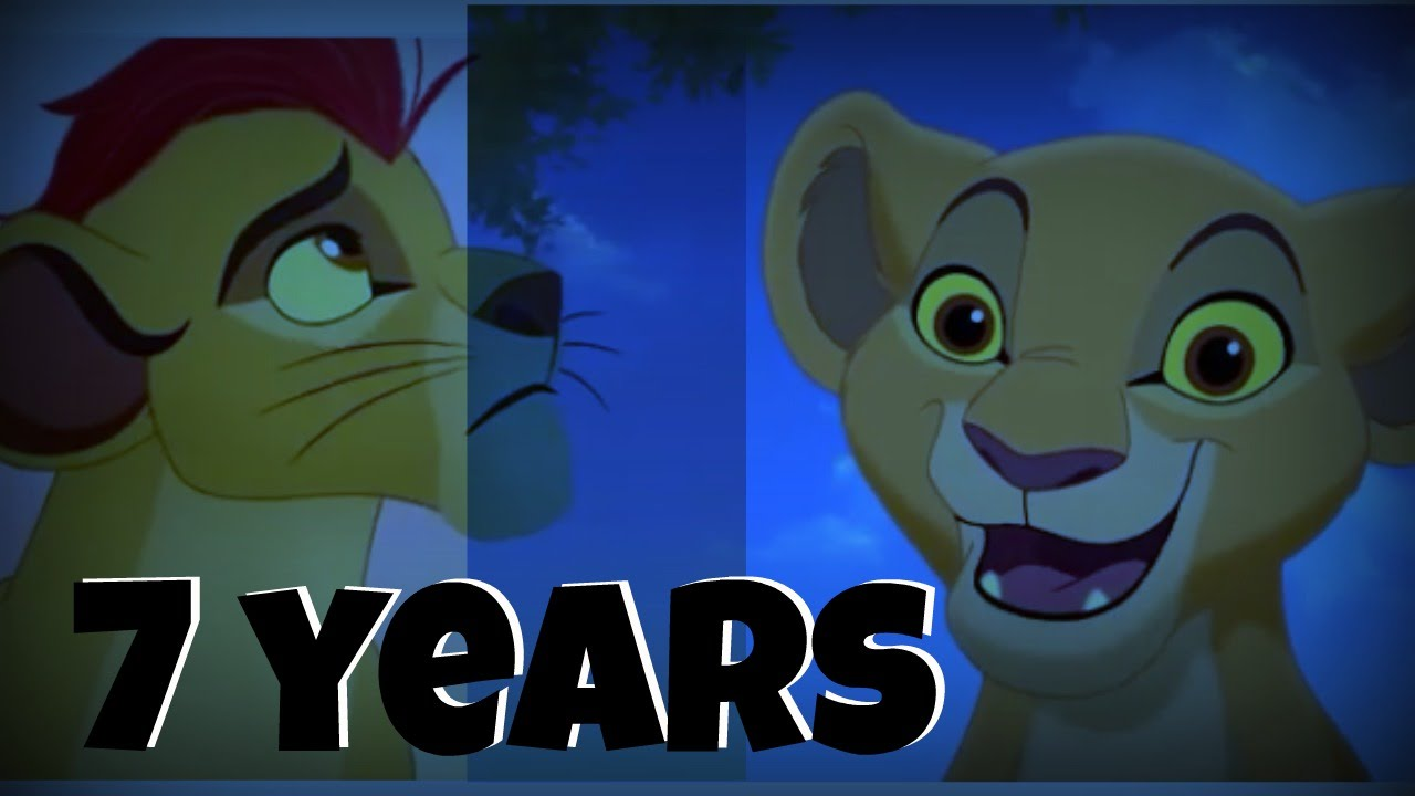 Lion Picture Clipart Kion And Kiara 7 Years Youtube