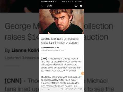 George Michael's art collection raises $14.6 million at auction 😲 Mp3