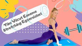 Tüm Vücut Esneme Egzersizleri | Her Antrenman Sonrası | 10 min Full Body Stretching | After Workout