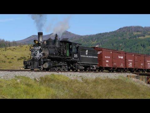 Narrow Gauge Reunion, Part 1, the Steam Engines