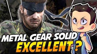 Metal Gear Solid Excellent ?!