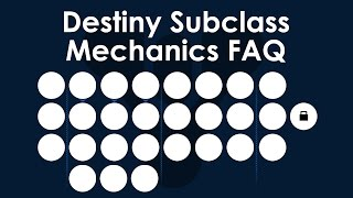Destiny Beta Subclass FAQ: How They Work, Third Subclass Slot and More