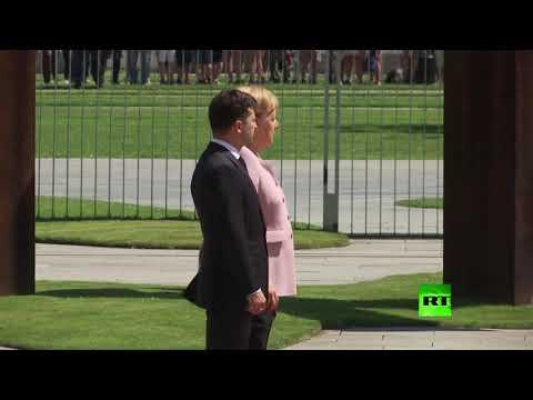 شاهد: رعشة تصيب ميركل أثناء استقبالها  الرئيس الأوكراني  - نشر قبل 3 ساعة