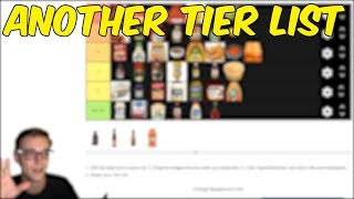 Arguing about Sauces and Condiments, a tier list