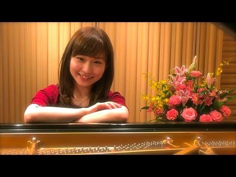 Mayaka Nakagawa in STEINWAY SALON TOKYO