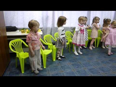 Хор малышей О.А. Борисовой, поздравление с 8 марта.