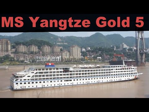 M/S Yangtze Gold 5 Leaving Chongqing Part 1