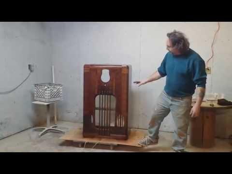 philco 37-116-x radio refinished at timeless arts refinishing