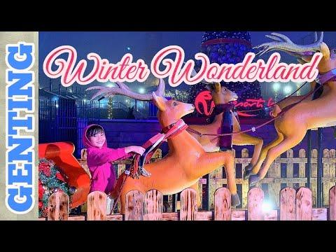 WINTER Wonderland 2019 I Genting Resorts World I Christmas Spirit