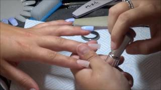 HOW TO | One Step Gel Polish Over Acrylic Nails
