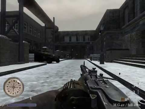 CoD2 B2F MG42 animation preview - YouTube