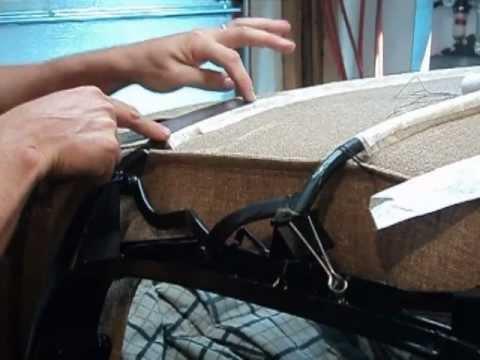 Karmann Ghia Convertible Top Installation Part 2