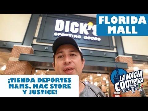 Florida Mall Dicks Apple M&ms Justice Disney World 2018