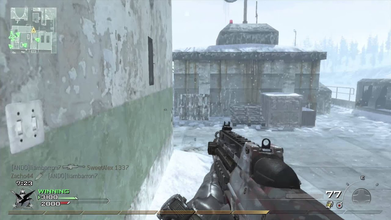 Call of duty modern warfare 2 gun -  F2000 Mw2 Guns 10 Call Of Duty Modern Warfare 2 Gameplay
