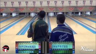 Pete Weber shoots big set Day 1 at the USBC Masters
