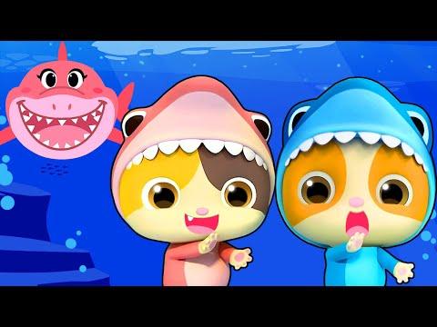 Baby Shark - Birtay Party  Baby Shark Dance  Nursery Rhymes  Kids Songs  Kids Cartoon BabyBus
