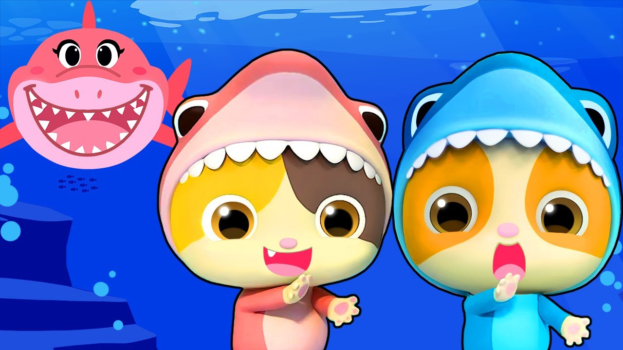 Baby Shark - Birthday Party | Baby Shark Dance | Nursery Rhymes | Kids Songs | Kids Cartoon |BabyBus