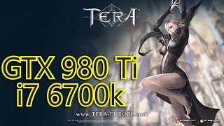 TERA GTX 980 Ti & i7 6700k | 1080p Max Settings | FRAME-RATE TEST