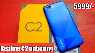 Realme C2 unboxing and review/ best phone under 6000