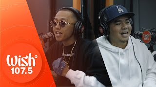 "Gloc-9 (ft. Flow G) performs ""Halik"" LIVE on Wish 107.5 Bus"