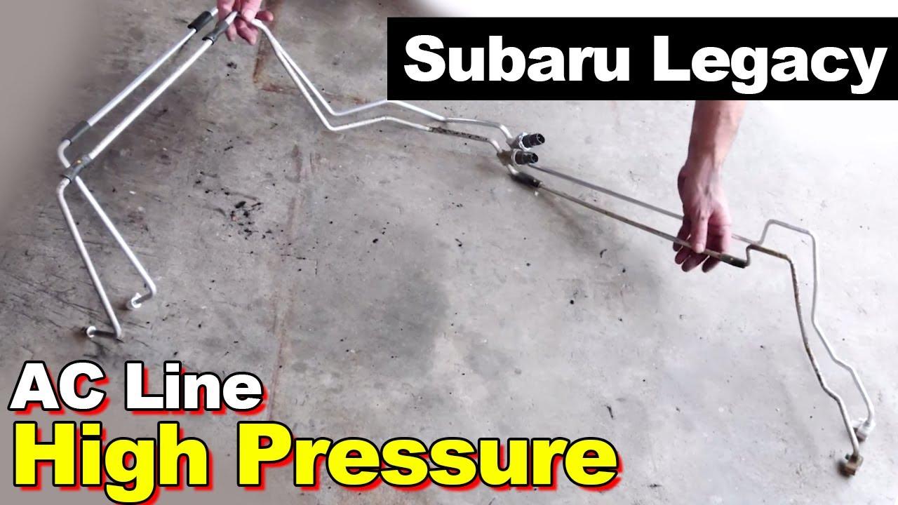 2005 Subaru Legacy High Pressure AC Line Leak on