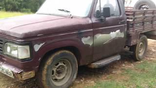 GM Chevrolet D20 1985 Picape Caminhonete carroceria de madeira Motor Perkins Q20b a venda