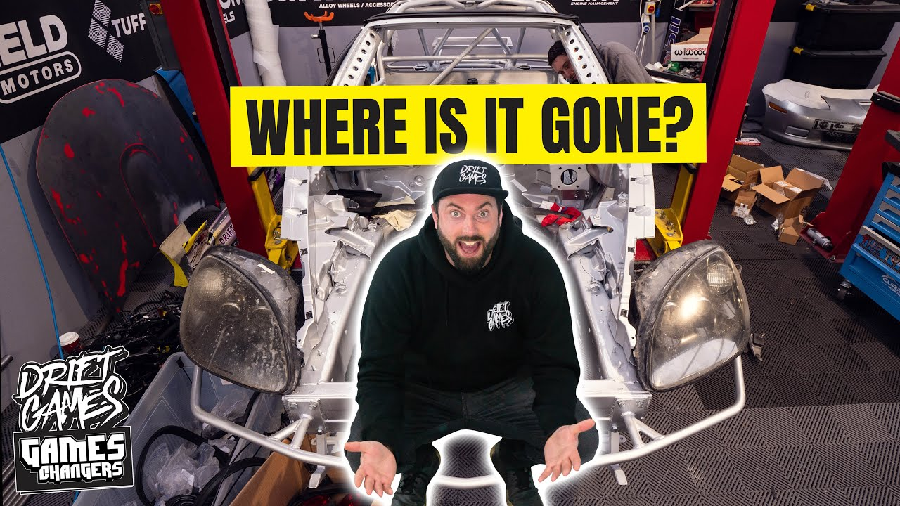 Corvette engine BACK IN | We are making ONE-OFF carbon fibre parts!