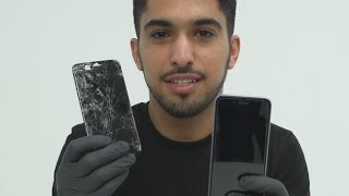 This guy can repair your shattered phone in 20 minutes
