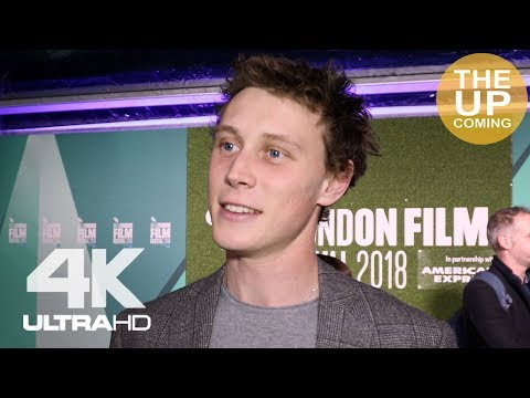 George MacKay on Been So Long at premiere for London Film Festival