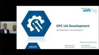 Easily Develop OPC UA Clients with  NET Standard