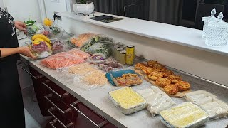 روتيني لخلاني منظمة وجبات العشاء لأسبوع كامل لكل إمرأة عاملة رتاحي وتهناي وصفات سهلة لعشاء سريع 👍👍