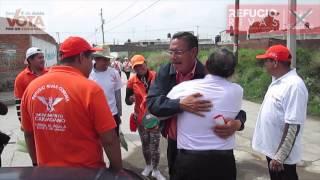 Refugio Rivas Corona cierra campaña en Santa Apolonia Teacalco