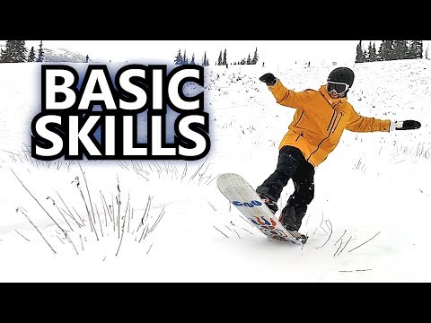 Working On Basic Snowboard Skills