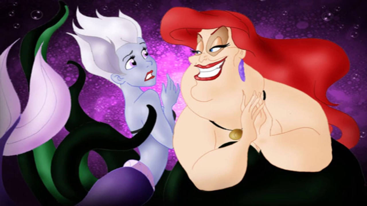 What if Ariel and Ursula Swapped Roles? - YouTube