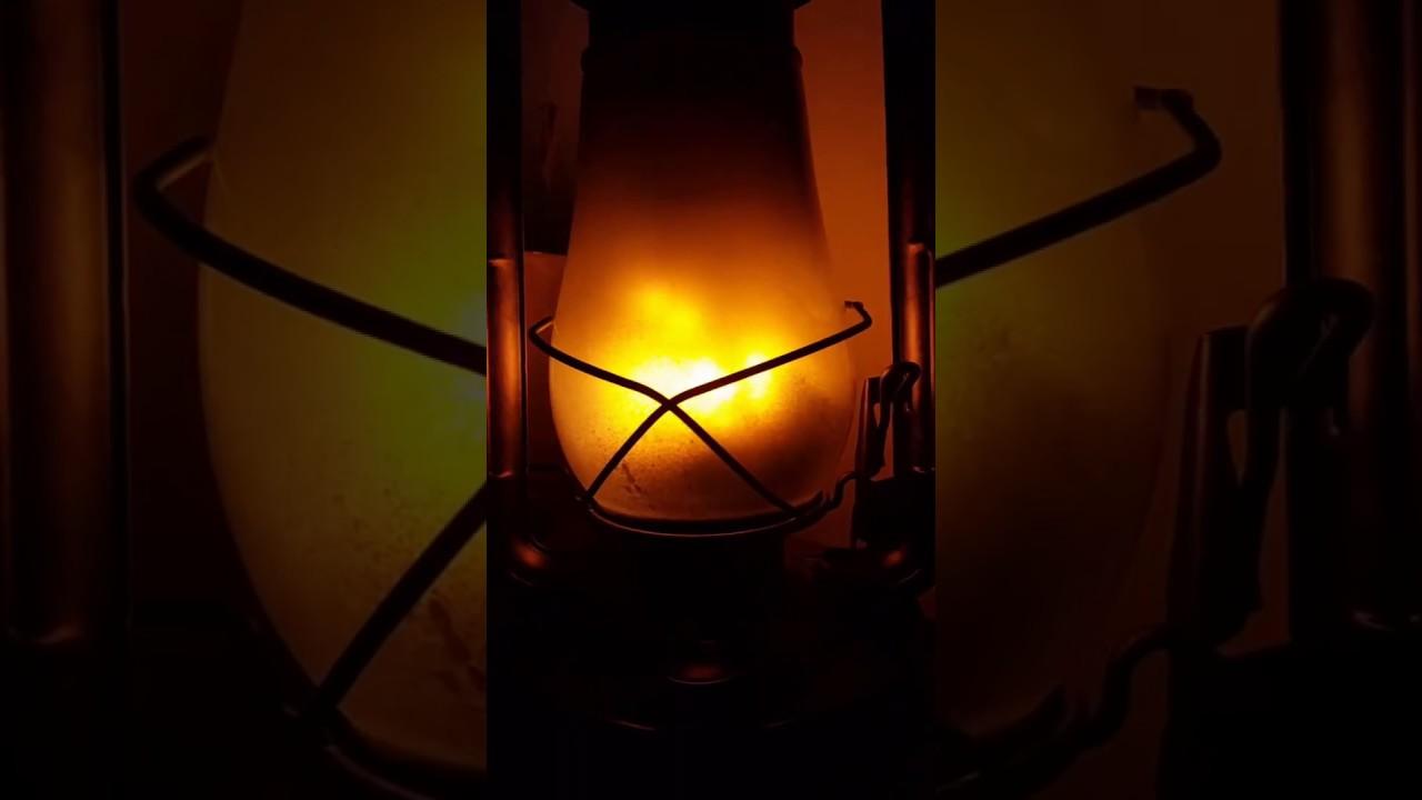 Led Fire Effect Bulb Lantern Test Youtube