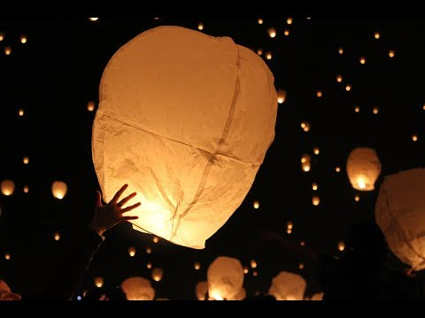 How To Release A Sky Lantern